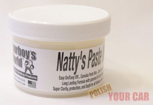 Poorboys Nattys Paste Wax